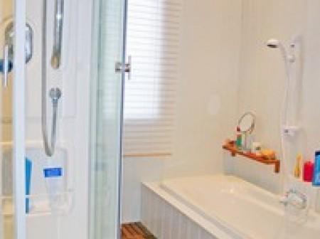 poser un plancher pour une salle de bains sols id. Black Bedroom Furniture Sets. Home Design Ideas