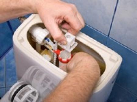 Réparer une chasse d'eau