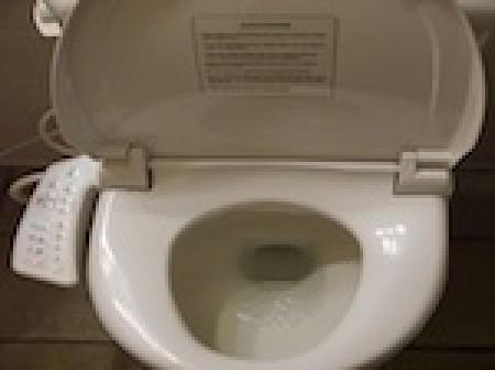 Les toilettes japonaises