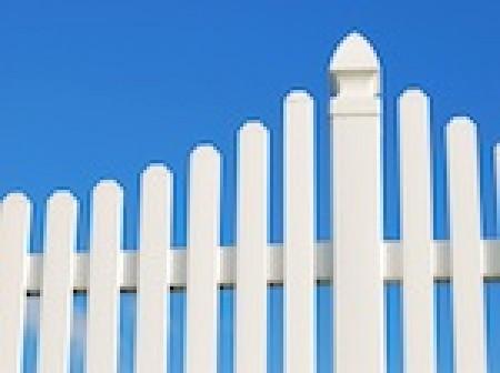 les piquets de clôture