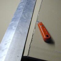 Découper plaque de plâtre