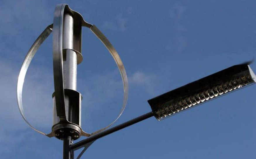 lampadaire eolien windela