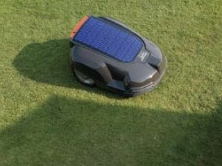 Tondeuse solaire