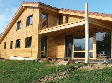 Maison bioclimatique.