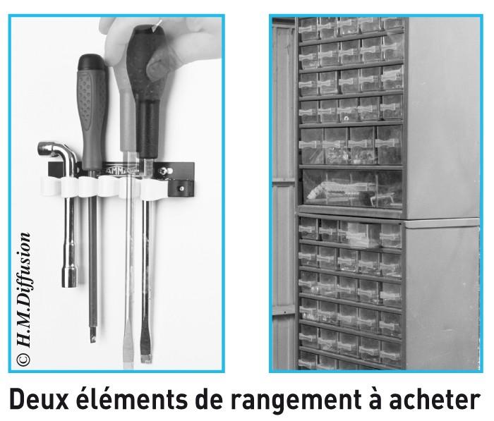 Elements de rangements