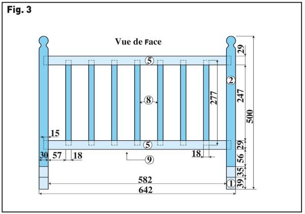Fabriquer un berceau fabriquer du mobilier id for Plan construction lit bois
