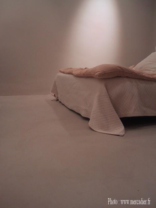 Chambre beton cire