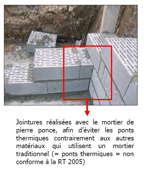 Bloc de pierre ponce id es produits id - Maison en pierre ponce ...