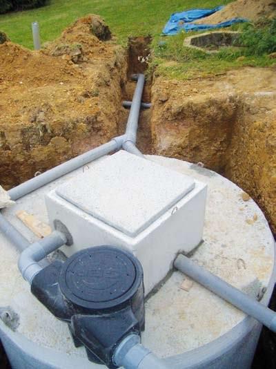 Cuve de r cup ration d 39 eau de pluie pour une maison for Calcul m3 piscine