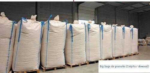 bigs bags de granulés