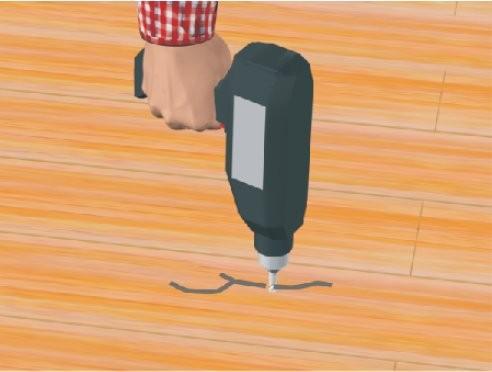 reparer parquet best pour rparer une fissure dans un parquet ou boucher un trou with reparer. Black Bedroom Furniture Sets. Home Design Ideas