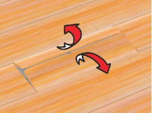 Otez les deux parties de la lame cassée