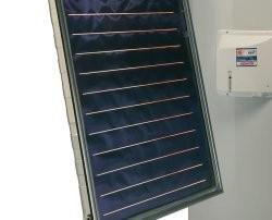 Panneau solaire et chauffe-eau