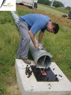 Montage éolienne
