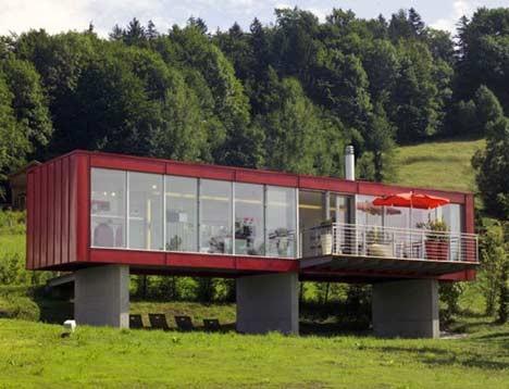 Maisons insolites objets design am nagement for Maisons containers tarifs
