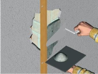 Comment reparer l 39 angle d 39 un mur - Reparer fissure mur exterieur ...