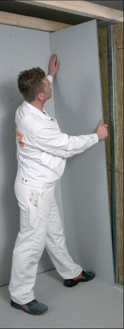 Cloisons de plâtre