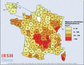 Radon en France